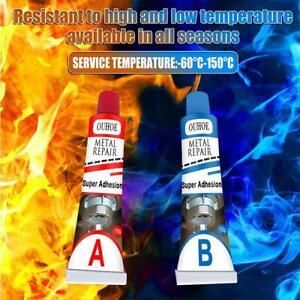 Industrial Heat Resistance Cold Weld Metal Repair Paste Gel Tools Useful 20g NEW