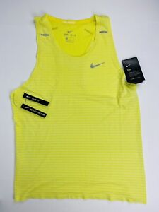 Nike Techknit Ultra Men's Tank Top Singlet Lightweight Knit Dri-Fit Size Medium