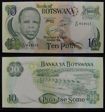 Botswana 10 Pula PAPER MONEY 1999 UNC, P-20a