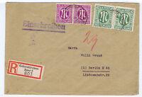 Bizone/AM-Post, Mi. 31/Paar, 7/Paar, Gelsenkirchen-Buer, 3.46