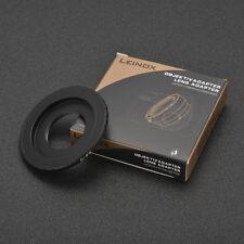 LEINOX C-M4/3 Black Magic C Mount TV Lens to BMPCC Adapter Micro4/3 Camera  Slim