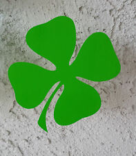LUCKY IRISH SHAMROCK/CLOVER 3.5x3.5 Car Decal sticker vinyl window wall glass