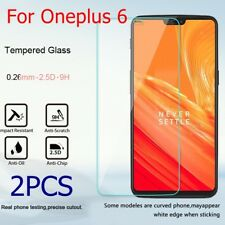 2pc Genuine Real 9H Tempered Glass Film Screen Protector Ultrathin For Oneplus 6