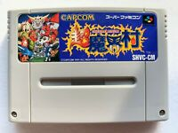 Cho Makaimura Super Ghosts 'N Goblins Nintendo Super Famicom SFC Action game