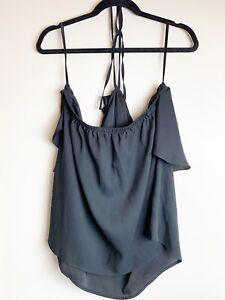 Torrid Womens Size 2 Tie Neck Sleevless Top