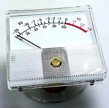 Vintage Honeywell 20 To 3 Vu Signal Level Panel Meter Guage 2 12 X 2 12
