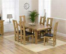 Oak Up to 6 Kitchen & Dining Tables with Extending