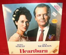 Laserdisc I * Heartburn * Meryl Streep Jack Nicholson Jeff Daniels