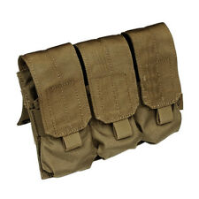 Flyye Industries Molle Triple Magazine Pouch - Coyote Brown