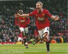 Manchester United Paul Scholes Autographed Signed 8x10 Photo COA B