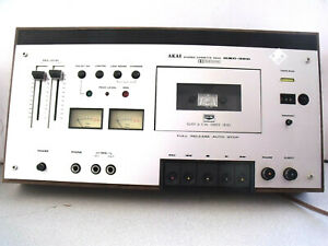 Akai Stereo Cassette Deck GXC-39D Dolby System