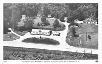 Barton New York~Aeroplane View Korbas Motel And Cottages~1920 Postcard