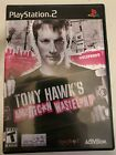 Tony Hawk Hawk's American Wasteland - Playstation 2 - PS2 - Black Label Complete