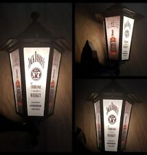 Jack Daniels light Jack Daniel's Whiskey lantern Wall pub bar Man cave JD light