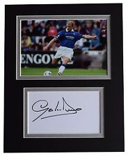 Gordon Durie Signed Autograph 10x8 photo display Glasgow Rangers Football COA