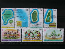 TUVALU '1978 * MH 73/79 YT 5,0 EUR ISLANDS,NAVIGATION,MAPS,COUTUMES,WILDLIFE