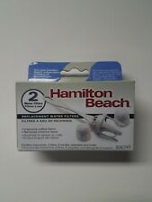 Hamilton Beach 80674R 2-Pack Replacement Water Filters for Coffeemakers - NIP