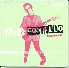 ELVIS COSTELLO Ultra Limited VISA Card CAREER SAMPLER PROMO 2007 USA CD SEALED