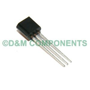 MPSA92 PNP Silicon High Voltage Transistor - Pack of 5, 10, 20 or 50