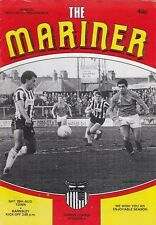 Grimsby Town V Barnsley 1984/85 Division 2-AGOSTO 25th