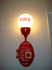 Light Fixture for Gamewell Fire Alarms (will fit all brands) & Fire Call Boxes