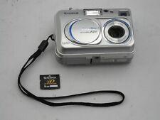 FujiFilm Finepix A210 Digital Camera Fuji Film w/ memory card
