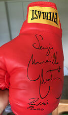 Paul Williams and Sergio Martinez Signed Everlast Dual Boxing Glove with proof