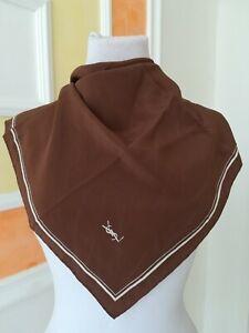 YSL, foulard in seta Vintage
