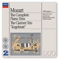Mozart The Complete Piano Trios Clarinet Trio