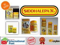 Siddhalepa Herbal Ayurvedic Balm Relief Pain Cold Flu Headaches muscle aches
