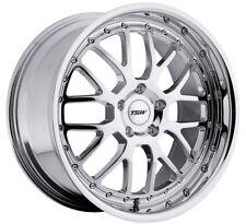 19x8 TSW Valencia 5x112 +32 Chrome Rims Aggressive Fits Audi A4 A5 A6 A8 S4
