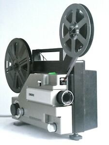 SUPERB Cinerex 727 Dual Format 8mm Cine Projector SERVICED Guaranteed BOXED