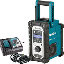Makita DMR109 10.8v-18v LXT/CXT LI-ion Job Site Radio + 2 x 3.0Ah BL1830, DC18RC