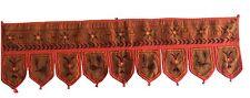 Brown Indian embroidered toran door valances wall hanging Elephant Home Decor