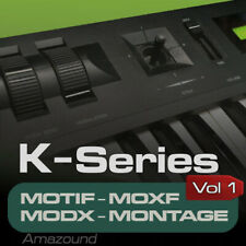 Kawai K1 Samples para Motif Es XS XF Moxf Modx Montage Keymaps Listo para Tocar