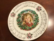 Royal Doulton Christmas Carole The Holly & The Ivy 5th in series 1984