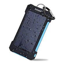 Innoo Tech Cargador Solar de 10000mAh,Power Bank portátil con Batería Ext ...