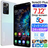 Unlocked Mobile Phone 7.12'' Full Screen 12+512GB 10 Core Dual SIM Smartphone tr