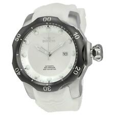New Invicta 19304 Men's Venom Sea Dragon Automatic White Rubber Strap Watch