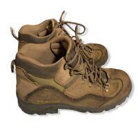 Columbia Rocky Ridge Mid Men's Hiking Trail Boots Size US Size 10.5 Brown Tan