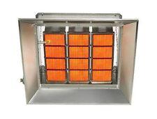 Starglo Infrared Ceramic Heaters, 65K Btu, Propane, Direct Spark