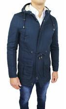 Cappotti e giacche da uomo con cappuccio Blu Diamond