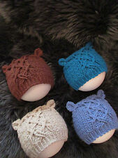 Handmade Knitted Baby Caps & Hats