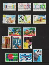 Aruba - 5 Semi-postal sets, mint, cat. $ 31.25