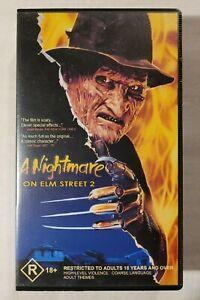A Nightmare on Elm Street 2 VHS 1985 Horror Jack Sholder Wes Craven (Non-Rental)
