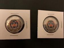🇨🇦2*Canada 2020 2 Dollar Bill Reid Colored  Coins BU From Roll(2 Coins) 🇨🇦