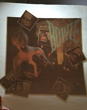 "Vintage David Bowie Iron-On ""Let's Dance"" Transfer 80's Rad Album Cvr No/S Rare!"