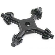 "4 Way Drill Press Chuck Key Size 3/8"" & 1/2"" Chucks Universal Combination Hand"