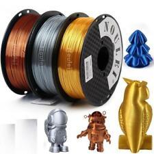 3D Printing Materials Shiny PLA Filament Silky 1.75mm Filament Metal Supplies