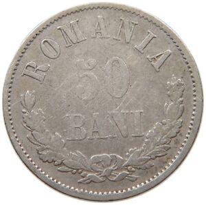 ROMANIA 50 BANI 1873 #t132 287